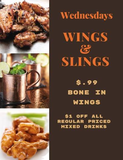 wings and slings
